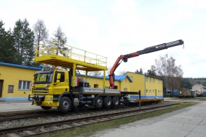 Le véhicule Rail-Route DAF CF85 DUOLINER est conçu pour rouler et intervenir sur routes ainsi que sur voies ferrées publiques ou privées.
