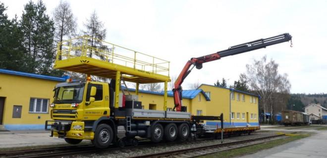 Szynowo – drogowy pojazd DAF CF85 DUOLINER przeznaczony do jazdy i pracy na drogach, a także do jazdy i pracy na krajowych i regionalnych torach kolejowych oraz bocznicach