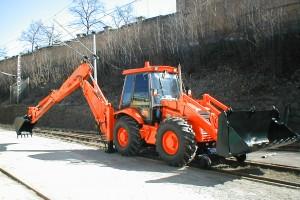 Dvoucestný stavební stroj JCB 3 CX SUPER TWIN