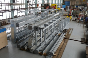 Engineering works - Production of gantries