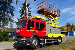 Road-Rail vehicle R DUOTRAM H - 01