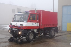 Rescue Road-Rail vehicle